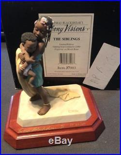 10 Thomas Blackshear Ebony Visions Signed Artist Proofs Matching Serial Numbers