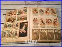 1300+ Victorian Trade Card Scrapbook Soapine Haddocks Black Americana Vtg Rare