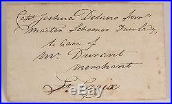 1797 American Slave Ship Letter Detailing The Type Of Slaves To Be Purchased