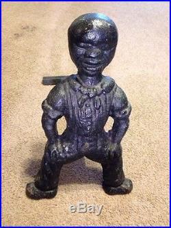 1800's Black Americana Andiron