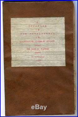 1829 Pamphlet Written By Jacksonville Florida Z Kingsley Slave Owner Slavery