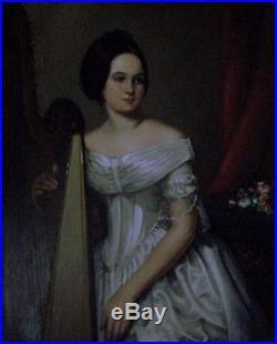 1842 Original Bedford Virginia VA Gift of Slaves Document Trade -Identified