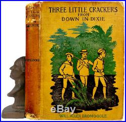 1898 WHITE CRACKERS IN DIXIE Florida Plantation BLACK AMERICANA Southern INDIANS