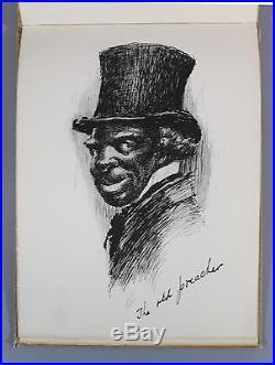 1899 Antique Black Americana Edward Kemble Illustrated, Kembles Sketch Book N
