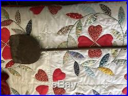 18th c. Wrought Iron Peel RARE Signed AH & Decorated. Fr an Old Collection