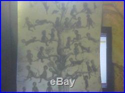 1909`BlackBirds, Very unusual copy' Black memorabilia ART PRINT