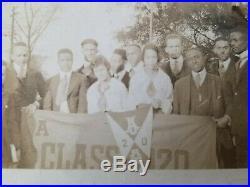 1917 African American Atlanta University Photo Album Champion Baseball Team
