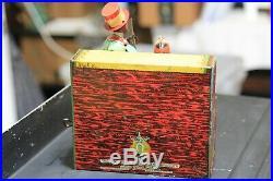 1921 Strauss Ham & Sam Minstrel Team Tin Wind-Up Toy Black Americana Antique
