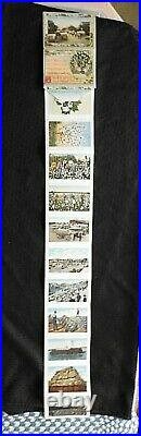 1921 The Land Of King Cotton Black Americana Postcard Souvenir Folder Rare