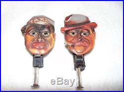 1925 German Amos The Taxi Driver & Andy Tin Litho Glass Eyed Sparklers Get Both