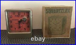 1930's Black Americana Clock, Wind-up