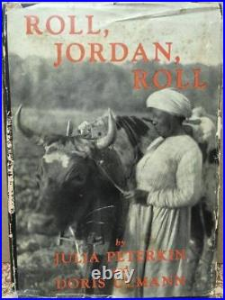 1933 Roll Jordan Roll1stVintage Book w D/JBlack AmericanaDoris Ulmann Photos