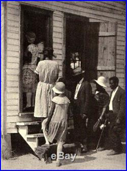 1934 Doris Ulmann ROLL JORDAN ROLL with 70 RARE PHOTOS Black Americana 1st Edition