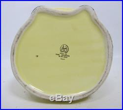 1940s Vtg Pearl China Mammy Figural Black Americana Cookie Jar 22 Karat NR yqz