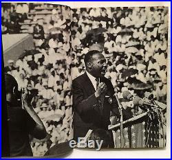 1965 MARTIN LUTHER KING SIGNED Book with Photo & Newspaper Autograph PSA/DNA LOA