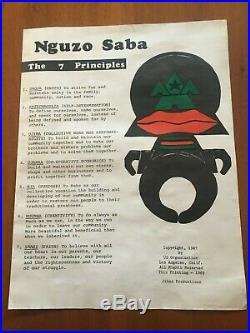 1969 Nguzo Saba, The 7 Principles, US Organization, Jihad Productions, Kwanzaa