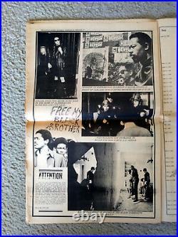 1970 Black Panther Party Newspaper Huey Newton E. Cleaver B. Seale Vol IV No. 12