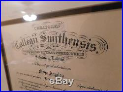 1975 Smith College Honarary Degree Presented to Maya Angelou