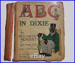 1st Edition ABC IN DIXIE A PLANTATION ALPHABET Children's Book Black Americana