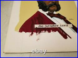 2nd African American US Congress Jefferson Franklin Long Illustrators Art FORTE