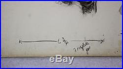 3 Antique Harry Burne Black Americana Colliers & Boys Life Illustration Painting