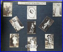 50 Page 1914 Photo Album African Americans INDIANS Cars WWI Incredible History