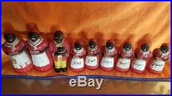 9 pc Rare Aunt Jemima Spice Set by F&F Mold & Die Works