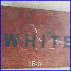 AI-Segregation Black Americana Colored/White painted wood sign-Birmingham AL