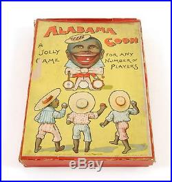 ALABAMA COON GAME BY J W SPEAR & SONS, LONDON/BAVARIA EARLY 1900s MINSTREL