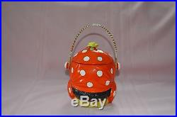 ANTIQUE RARE GOOGLY EYED MAMMY HEAD BLACK AMERICANA COOKIE/BISCUIT JAR GREAT CON