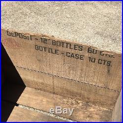 ANTIQUE RARE MAMMY'S SODA WOOD BOTTLE CRATE BLACK AMERICANA PHILADELPHIA 1920S