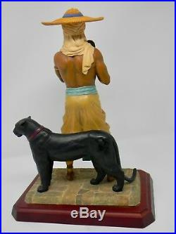 African American Figurine by Thomas Blackshear, The Protector, First Edition