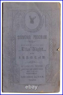 African American Harlem Renaissance Elks Program