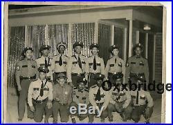 African American Police Officers Black Cop ORIGINAL 1950 Vintage Photo Americana