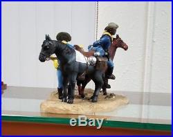 Annie Lee Courier Break Buffalo Soldier Figurine Liquidation Sale