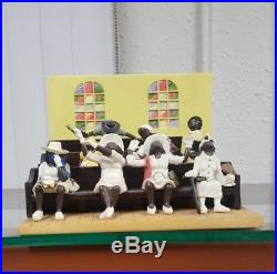 Annie Lee Figurine Coming Together/African American Art/Holy Ghost