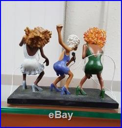 Annie Lee Figurine Heat of The Beat/African American Art Liquidation Sale