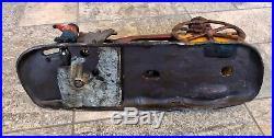 Antique 1888 J & E Bad Accident Black Americana Cast Iron Mechanical Bank