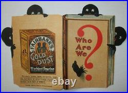 Antique 1908 FAIRBANKS GOLD DUST TWINS WASHING POWDER SOAP Advertising Booklet
