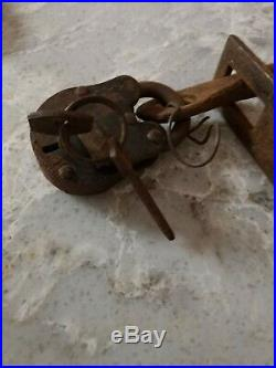 Antique American Slave Shackles