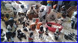 Antique Black America Memorabilia Figurine Collection Japan Germany c. 1920s