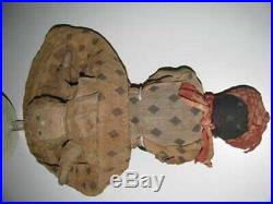 Antique Black Americana Cloth Doll 14
