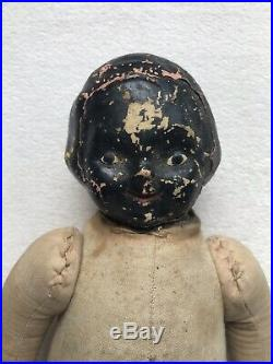Antique Black Americana Composition Doll 10