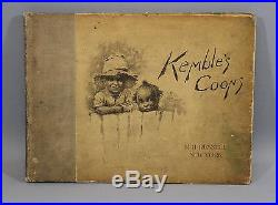 Antique Black Americana Edward Kembles Coons Collection Southern Sketches Book