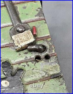 Antique Black Americana J. E. Stevens Cast Iron Mechanical Bank- needs repair