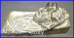 Antique Black Americana Johnny Griffin Inkwell