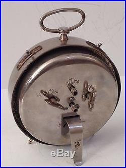 Antique Black Americana Vintage Alarm Clock Copyright 1935 West Germany