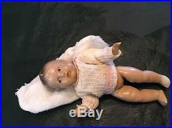 Antique Black Tony Sarg Doll Holding Baby