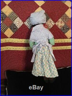 Antique Black Velvet Nora Wellings Doll Excellent Condition