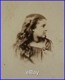 Antique Civil War Rebecca White Slave New Orleans Chas Paxton CDV Photograph